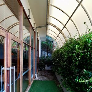Fixed Fabric Roofs